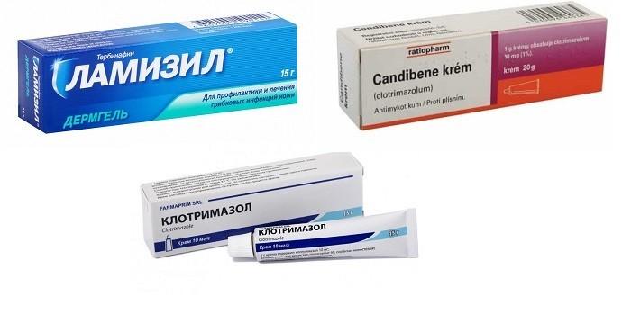 Препараты для наружного применения