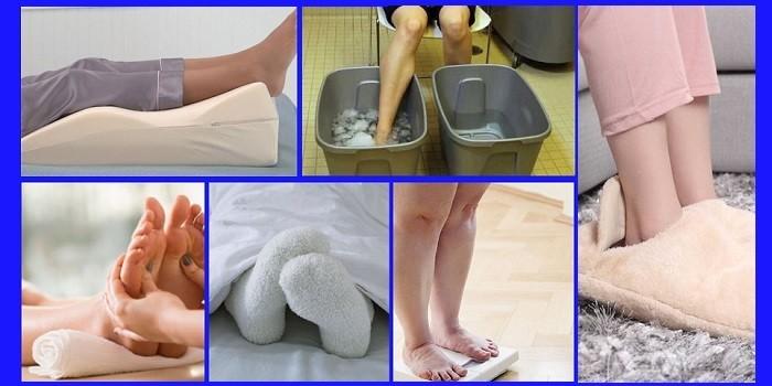 Домашние способы согреть ноги
