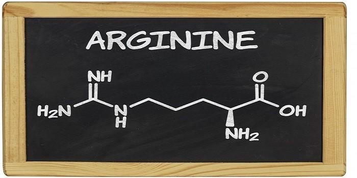 Аргинин, формула