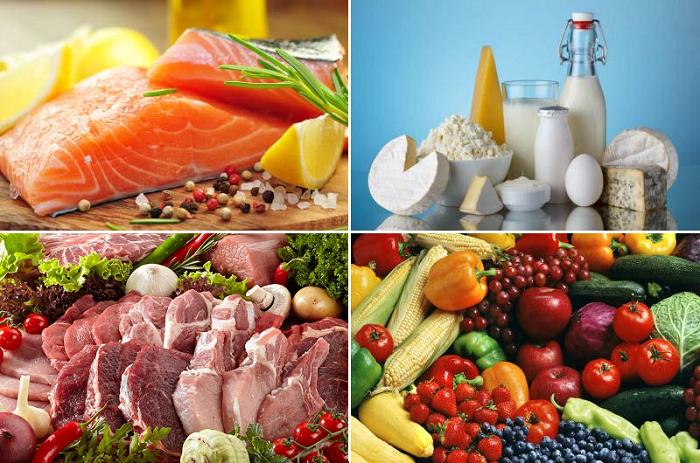 Полезные при переломах продукты питания