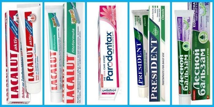 Лучшие зубные пасты для лечения десен