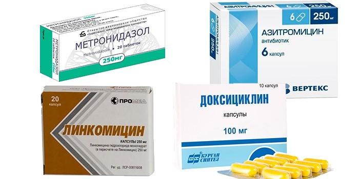 Антибиотики в таблетках и капсулах