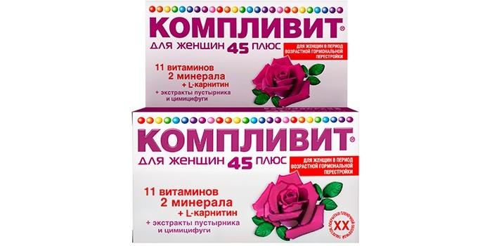 Витаминно-минеральный комплекс Компливит 45+