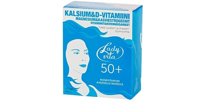 Витамины Ladyvita 50+