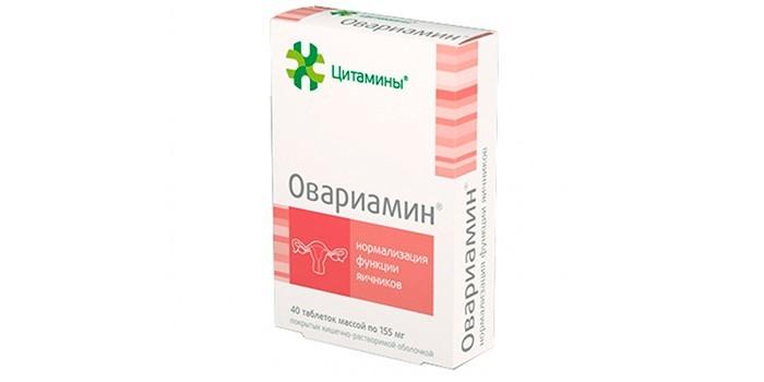 Таблетки Овариамин