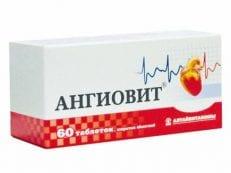 Ангиовит – инструкция по применению и механизм действия, побочные эффекты, противопоказания и аналоги