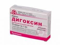 Дигоксин – инструкция по применению, дозировка, действующее вещество, противопоказания и отзывы