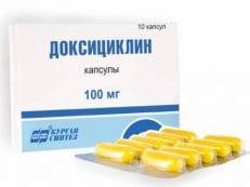 Доксициклин – инструкция по применению и противопоказания,механизм действия, побочные эффекты и аналоги