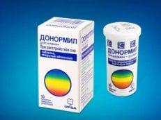 Донормил – инструкция по применению, суточная дозировка таблеток, механизм действия и противопоказания