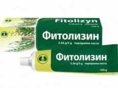 Фитолизин – инструкция по применению, дозировка взрослым и детям, противопоказания, аналоги и отзывы