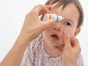 Конъюнктивит у детей - чем лечить в домашних условиях
