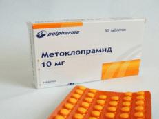 Метоклопрамид – инструкция по применению и отзывы