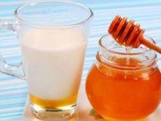 Молоко с медом от кашля для эффективного лечения