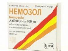 Немозол – инструкция по применению и противопоказания, дозировка, побочные эффекты и аналоги