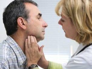 Симптомы щитовидной железы у мужчин: заболевания органа