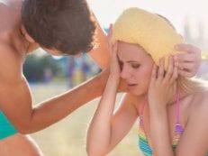Тепловой удар у взрослых и детей — признаки и как предупредить