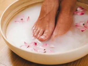 Ванночки для ног от грибка для домашнего лечения