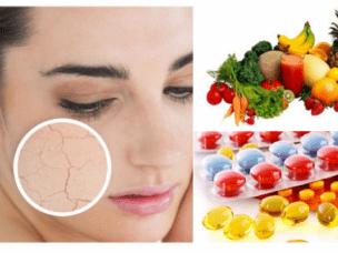 Витамины для сухой кожи - какие выбрать и как принимать