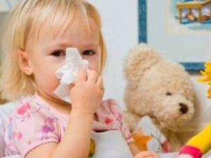 Причины и лечение зеленых соплей у детей