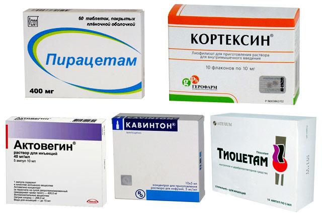 Лекарства после инсульта