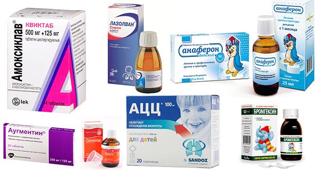 Лекарства, помогающие от кашля