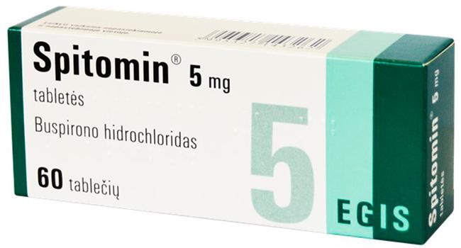 Спитомин 5 мг