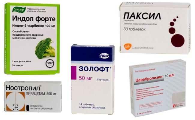 Медикаменты при психогенной амнезии