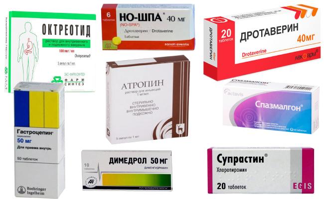 Обезболивающие препараты при панкреатите